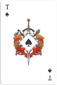 #PlayingCardsTop1000 – Ace of spades Mafia playing cards