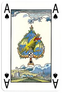 Ace of spades Martin Mystere deck