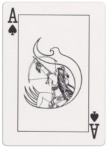 Ace of spades deck for indian casinos in the USA