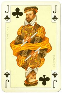 Jack of clubs France Royal playing cards deck