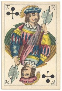 #PlayingCardsTop1000 – Jack of clubs Bon Gout deck