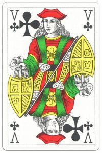 #PlayingCardsTop1000 – Jack of clubs Classic Belgian cards