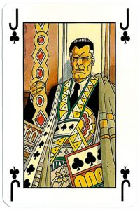 Jack of clubs Martin Mystere deck