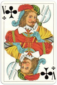 Jack of clubs Recer azulejos Portugueese playing cards