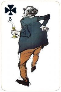 #PlayingCardsTop1000 – Jack of clubs Zwettler playing cards