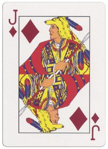 Jack of diamonds deck for indian casinos in the USA