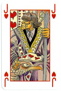 #PlayingCardsTop1000 – Jack of hearts Martin Mystere deck