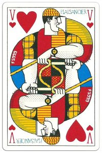 Jack of hearts Ocean Playing Cards