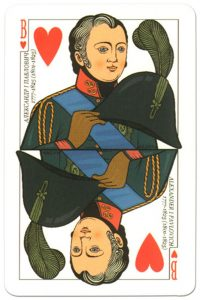 Jack of hearts Russian Emperors