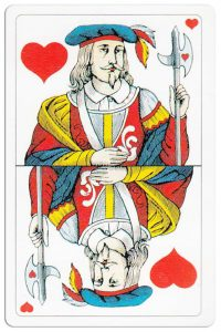 #PlayingCardsTop1000 – Jack of hearts Swiss Card Troffen