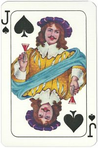 Jack of spades Espanola Grandes playing card