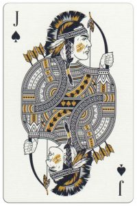 #PlayingCardsTop1000 – Jack of spades Malam Deluxe USA playing cards