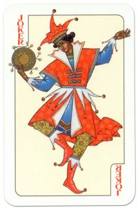 #PlayingCardsTop1000 – Joker Russian traditional style playing cards