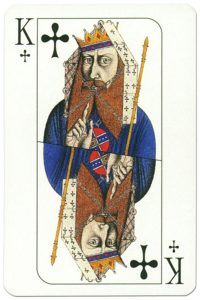 King of clubs Cosmopolitan playing cards deck