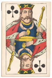 #PlayingCardsTop1000 – King of clubs Franfortoises deck Speelkaarten Fabriek Nederland
