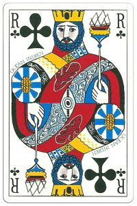 King of clubs Ocean Playing Cards