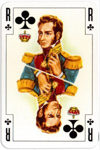 #PlayingCardsTop1000 – King of clubs Renovation playing cards designed by Jean Hoffmann