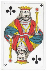 #PlayingCardsTop1000 – King of clubs Swiss Card Troffen