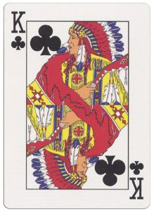 #PlayingCardsTop1000 – King of clubs deck for indian casinos in the USA