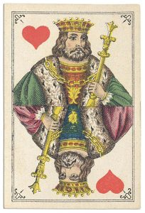 #PlayingCardsTop1000 – King of hearts Bon Gout deck