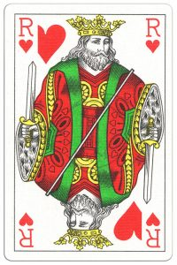 King of hearts Classic Belgian cards