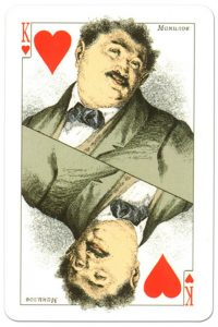 #PlayingCardsTop1000 – King of hearts Dead Souls by artist Boklevsky