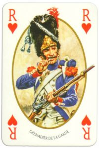 King of hearts Face et Dos deck Empire by Carta Mundi