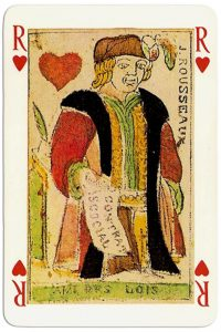 #PlayingCardsTop1000 – King of hearts Jeu des 4 Saisons de L'An