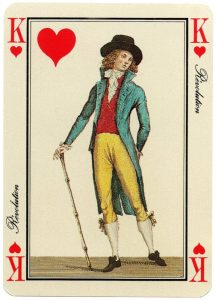 #PlayingCardsTop1000 – King of hearts Jeu des Modes cartes a jouer Grimaud