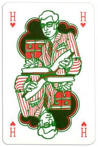 King of hearts Keser playing cards for every profession accountant