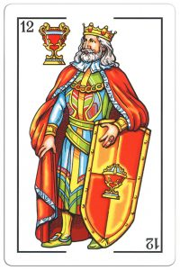 #PlayingCardsTop1000 – King of hearts Maestros Naiperos Portrait de Castille Azahar