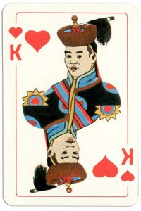King of hearts Mongol deck