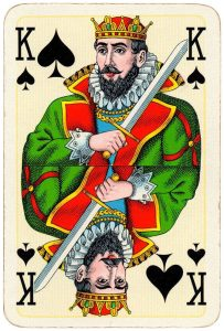 King of spades Bridge Export classic playing cards by Handa