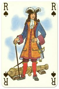 King of spades Corsaires cartes de jau Grimaud
