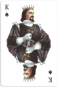 #PlayingCardsTop1000 – King of spades Mafia playing cards