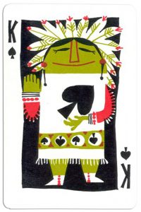 King of spades Neiman Marcus deck
