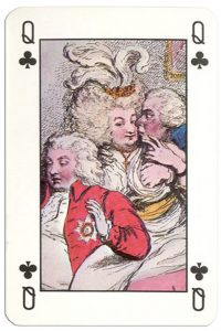 #PlayingCardsTop1000 – Queen of clubs The Royal Pavilion at Brighton cards
