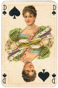 Queen of spades Allerfeinste Salon Whist Piatnik