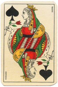 #PlayingCardsTop1000 – Queen of spades Carte da gioco Genovesi