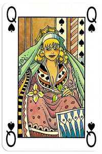 Queen of spades Martin Mystere deck