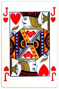 Harten Boer speelkaart Montecarlo Cards standard pattern playing cards
