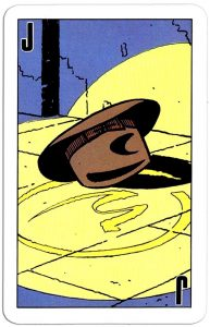 Joker speelkaart Blake and Mortimer cards Edgar P Jacobs comics