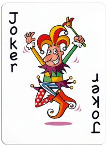 Joker speelkaart Junior playing cards cartoon