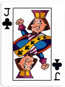 Klaveren Boer speelkaart Junior playing cards cartoon