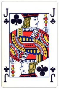 Klaveren Boer speelkaart Montecarlo Cards standard pattern playing cards