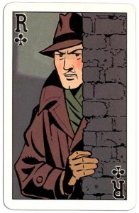 Klaveren Heer speelkaart Blake and Mortimer cards Edgar P Jacobs comics
