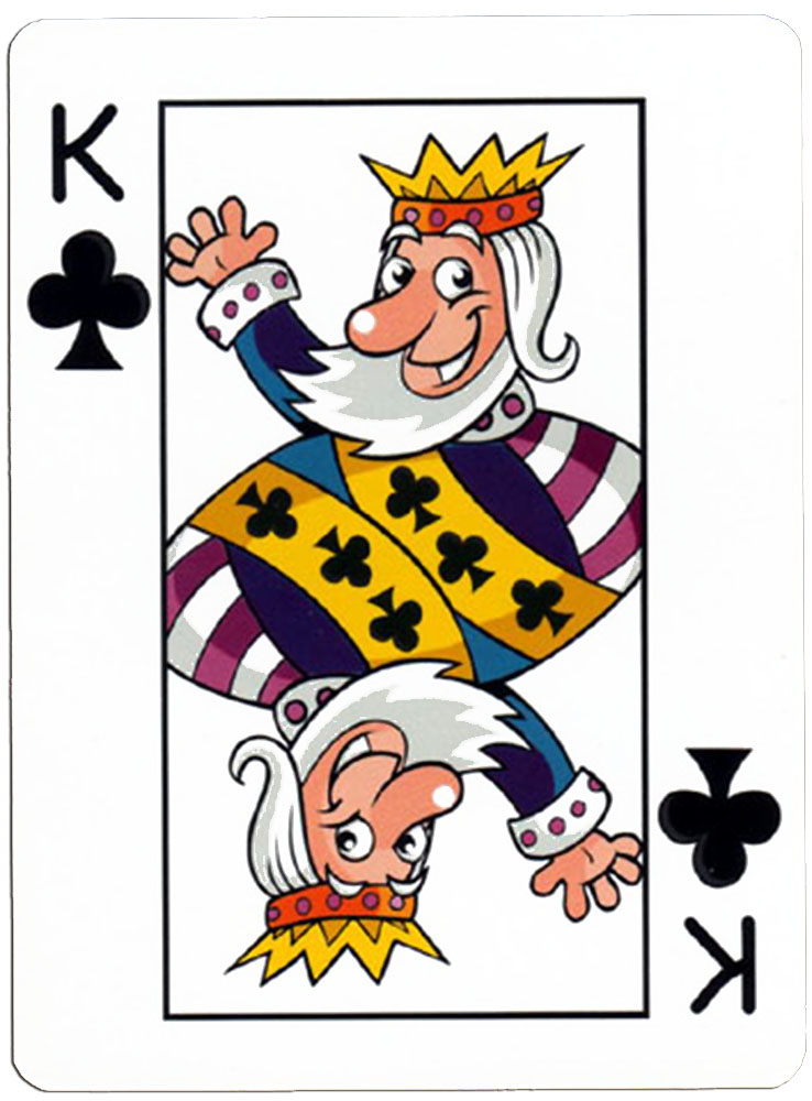 Klaveren Heer speelkaart Junior playing cards cartoon