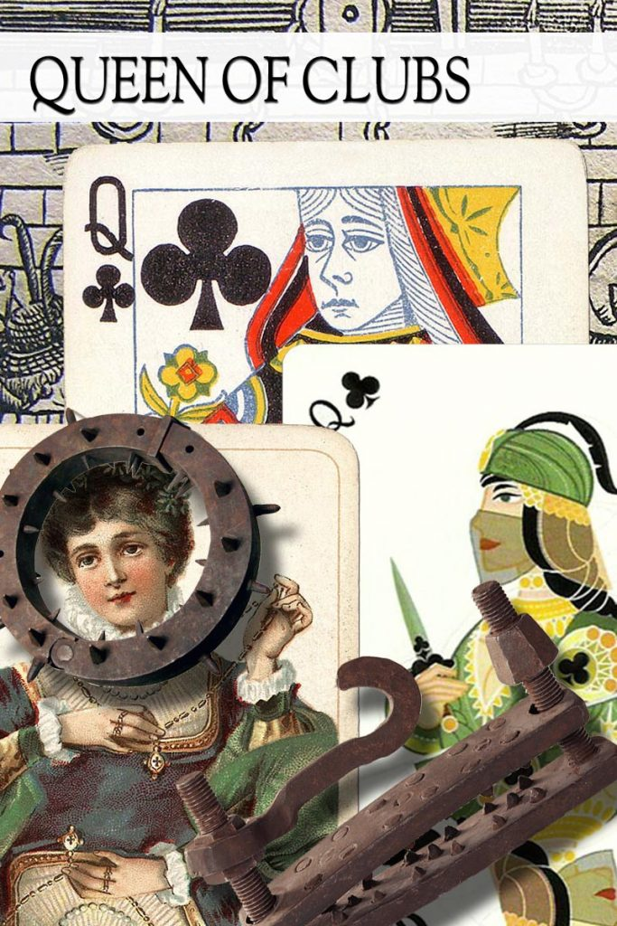 Queen of clubs main image