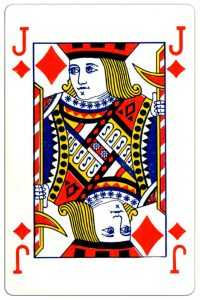Ruiten Boer speelkaart Montecarlo Cards standard pattern playing cards