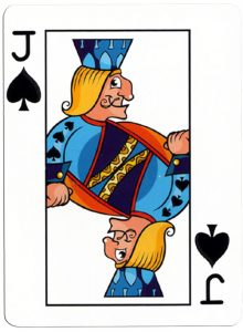 Schoppen Boer speelkaart Junior playing cards cartoon